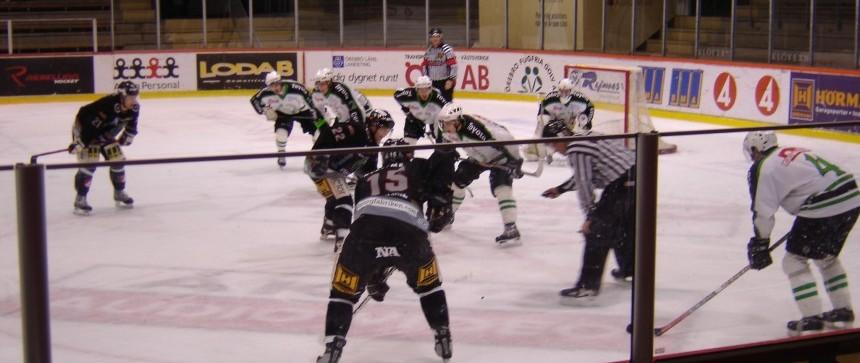 Match de hockey Örebro-Grums