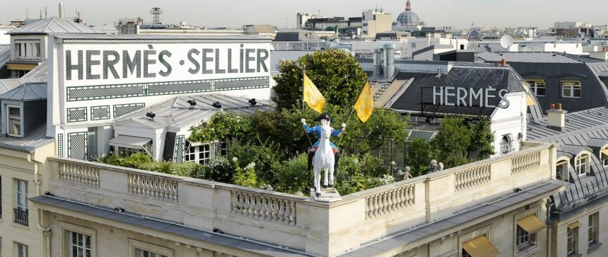 Hermès - Jardin terrasse rue Saint-Honoré