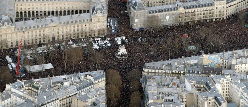Place de la République - 11 janvier 2015