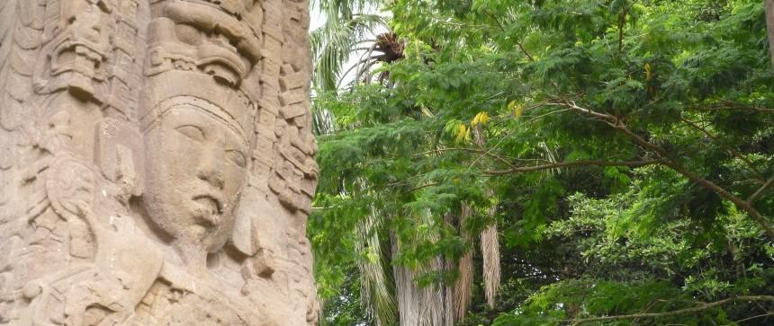 Stèle maya - Quiriguá