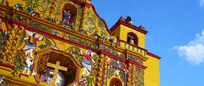 Eglise de San Andres Xecul - Guatemala