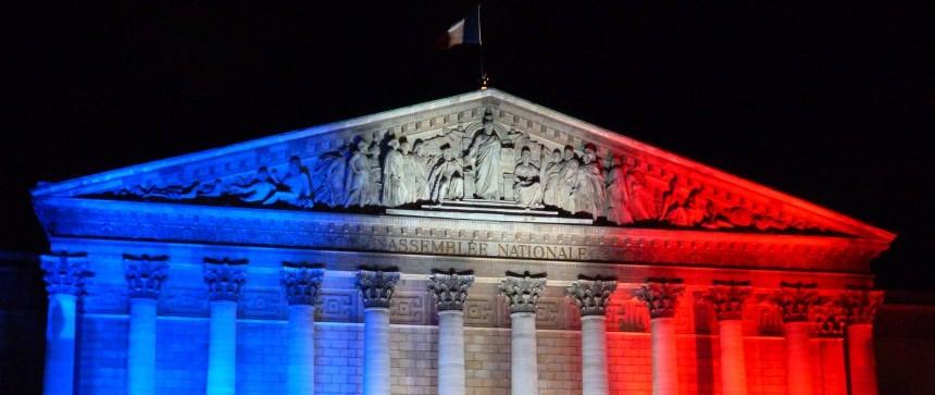 Assemblée nationale Bleu Blanc Rouge