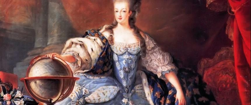 Marie-Antoinette en costume de sacre