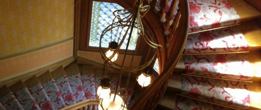 Escalier de la Villa Demoiselle