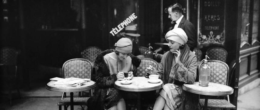 Terrasse de café - Paris