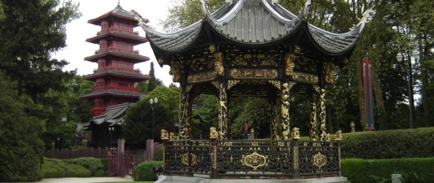 Pavillon chinois & Tour japonaise - Bruxelles
