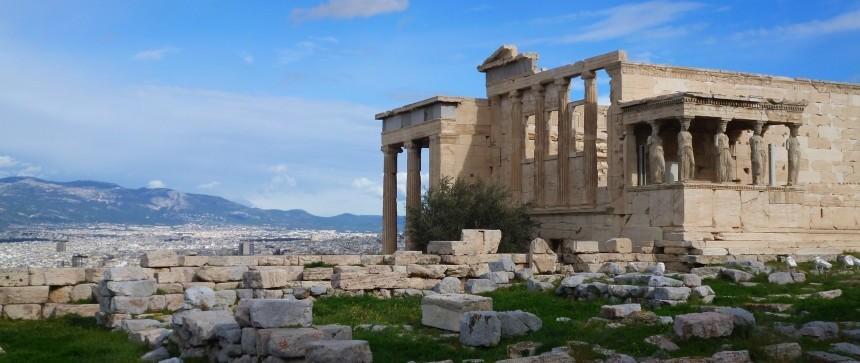 Érechthéion sur l'Acropole d'Athènes