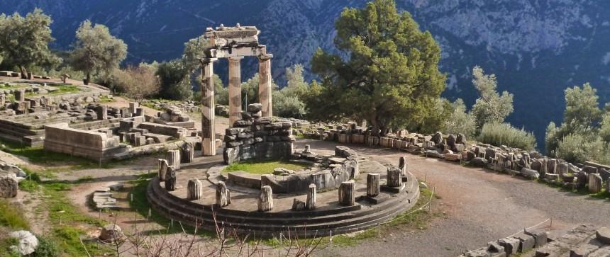 Tholos de Delphes - Grèce