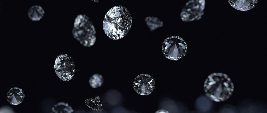 Pluie de diamants