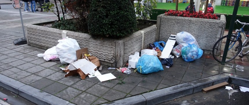 Trottoirs dégueulasses de Bruxelles
