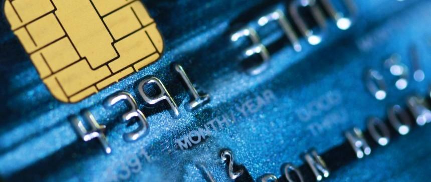 Carte bancaire à puce