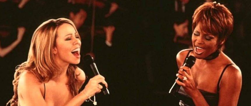 Duo Whitney Houston - Mariah Carey