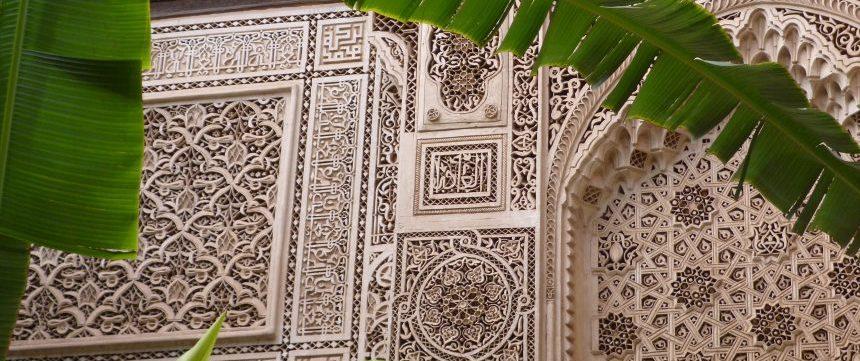 Palais de la Bahia - Marrakech - Maroc